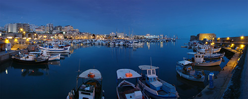 heraklion port taxi service